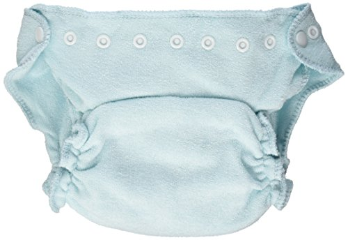 Imagine Baby Products Rayon From Bamboo Fitted Snap Diaper, Indigo ()