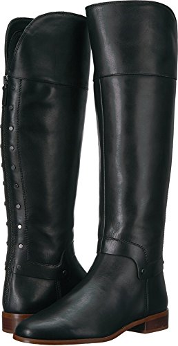 Franco Sarto Women's Roxanna Knee High Boot, Black, 8 Medium US (Franco Women Boots Leather Sarto)