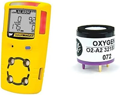 Amazon.com: Alphasense Replacement Oxygen Sensor for BW Tech Gas Alert MicroClip XT: Electronics