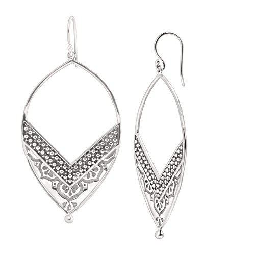 Silpada Ornate Sterling Silver Earrings product image