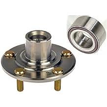 Single FRONT Left or Right Wheel Hub & (NSK) Bearing Fit 2003 2004 2005 2006 2007 HONDA ACCORD (4 Cylinder Engine & Manual Transmission)