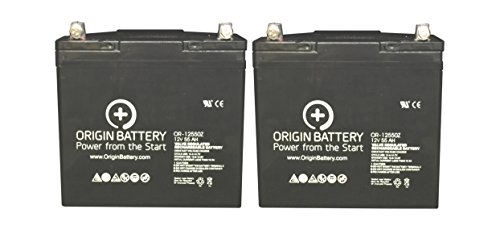 Jazzy 614HD Battery Replacement Kit ()