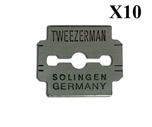 Replacement Blades for Callus Remover - Tweezerman (10 pcs) Ongles d' Or