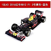 Diecast Alloy Motorcycle Scale Motor Scoote Car Models Motorbike Vehicles mkd3 Toys for Children 1:43 F1 red Bull Formula car 2016338025