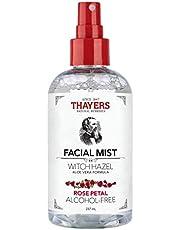Thayers Alcohol-free Rose Petal Witch Hazel Facial Mist Toner, Rose Petal, 237 milliliters