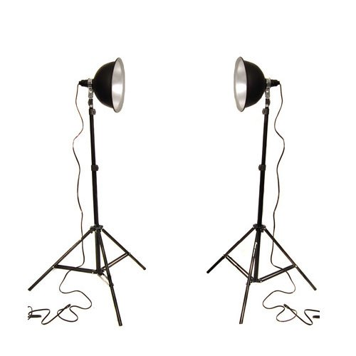 CowboyStudio Photo Studio Reflector Continuous Lighting Kits PS-03 by CowboyStudio