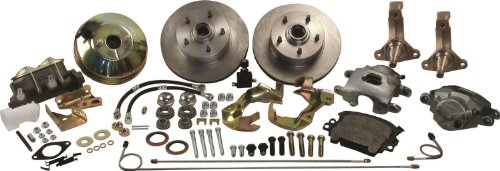 1974 Nova Front Disc Brake (SSBC A123-1 Front Drum to Disc Brake Conversion Kit)