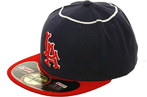 New Era 59Fifty Hat Los Angeles Angels of Anaheim Official TBTC 1961 On Field Cap – DiZiSports Store