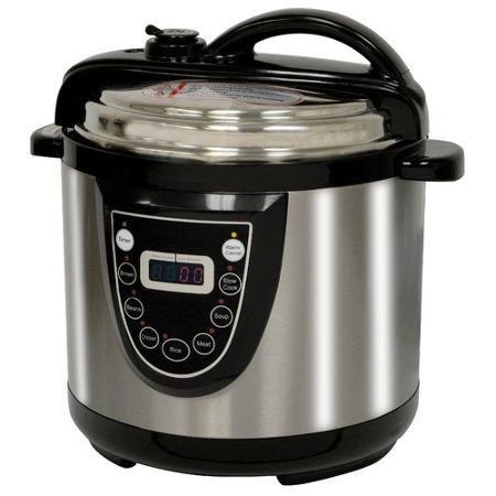 Buffalo Tools AmeriHome 6-Quart Electric Pressure Cooker by Buffalo Tools