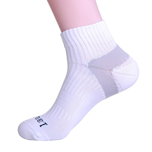 Laulax Coolmax Professional Running Socks Compression White M3d3DZbLm
