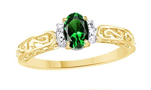 0.44 Ct Emerald Cut Diamond - 6