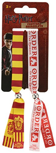 Harry Potter Gryffindor Double Festival Wristband Set -