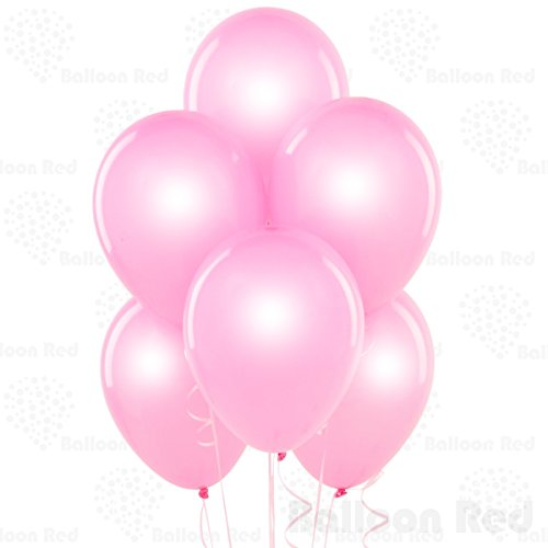 Easy Homemade Halloween Costumes For Babies (12 Inch Pearlized Latex Balloons (Premium Helium Quality), Pack of 24, Pearl Baby Pink)