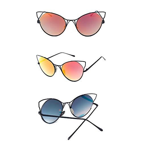 Polarisé Sumferkyh Protection Hipster Cat De Soleil Femme Riving Pour Femmes Eye 100 Uv Lunettes L4 L6 Sunglasses Creuses couleur Sr7q1wS