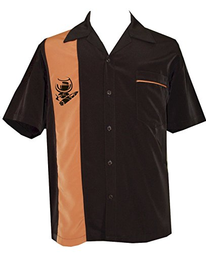 - BeRetro Cigar Embroidered Retro Lounge Camp Men's Shirt ~ ROBUSTO