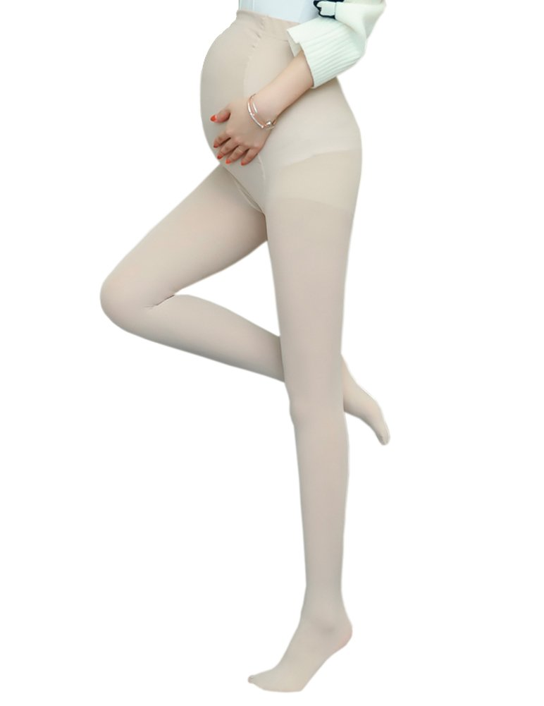 Vellette Women's Maternity Pantyhose Opaque Tights Leggings 120 Denier (4 Colors) WZ004NN