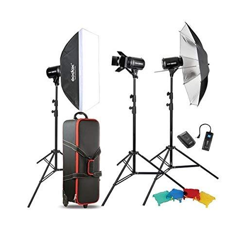 Godox E250 250WS Monolight Strobe Flash Studio Lighting Light Video Photo Softbox Photography Kit for head shot, waist shoot, and certificate photography