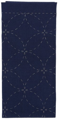(Olympus SC-0203 Sashiko Sampler Traditional Shippo Tsunagi, Blue)