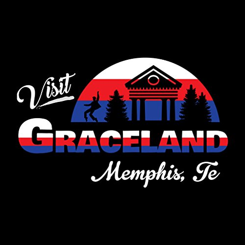 Elvis Black Memphis Tennessee Visit Graceland Sweatshirt Coto7 Presley Women's qIwSOInp