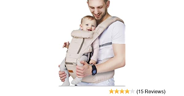 Grey Front Baby Carrier Hip Seat Toddler Waist Seat for 3-36 Months
