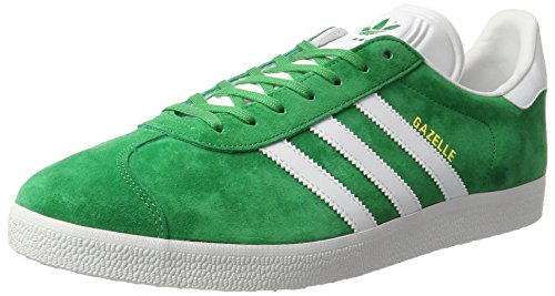 super popular 72b3d 8be60 Bb54 Running Scarpe Gazelle Adidas Unisex gold Metallic Originals Verde  Adulto green white wxZZ6HF