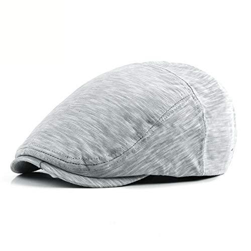 Hombres Boina GLLH Libre al Aire Sombrero hat Delantero de Moda Sombrero F Sombreros B los Gorra qin Informal qw641zq