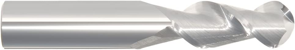 3-1//2 OAL 5//8 Dia 2 FL Carbide S//E HP End Mill-Uncoated - 1-5//8 LOC