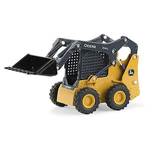 John Deere Equipment (1/32 Scale John Deere 314G Skid Steer by Ertl #45562 - LP64455)