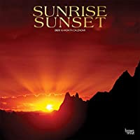 Sunrise Sunset 2020 12 x 12 Inch Monthly Square Wall Calendar with Foil Stamped Cover, Nature Photography Science