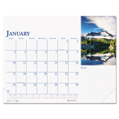 2009 Desk Calendar (Earthscapes Full-Color Inspirational Calendar Desk Pad, Jan - Dec, 18.5