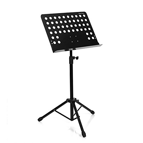Hola! HM-MS+ Professional Folding Orchestra Sheet Music Stand + Carrying bag by Hola! Music (Image #1)