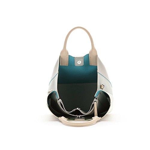 ABBACINO SS16 ABBACINO TRENDY LA SAVINA /  WHITE - Bolso para mujer, color blanco, talla Talla única