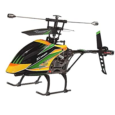 NiGHT LiONS TECH WL Large 4CH Single Blade Remote Control RC Helicopter with Gyro RTF for for Outdoor Flying by NiGHT LiONS TECH