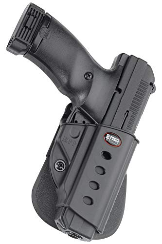 Fobus HPP Evolution Holster for Hi-Point .380, .40, .45, 9mm, Ruger American 9mm Compact, 9mm & .40 Full, P94, P95, P97 (with or without rail), SR45 , Right Hand Paddle (40 Hi S&w Point Magazine)