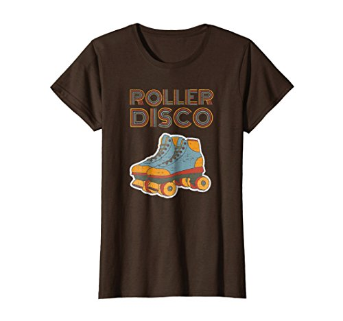 Cool Vintage Roller Disco Retro 70s and 80s party T-shirt