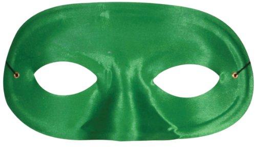 Costume Mask: Domino Half Mask- (Green Domino Mask)