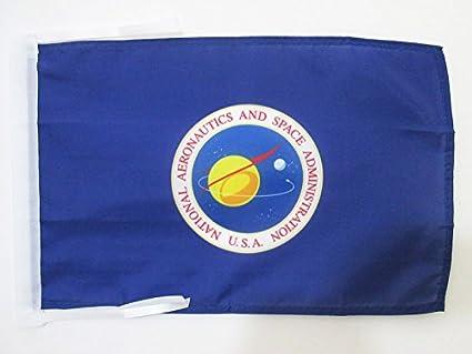 Amazon.com   AZ FLAG United States NASA Flag 18   x 12   Cords - US ... ce59607368