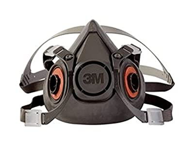 3M Half Face Piece, P-100 Reusable Respirator, Large Mask - 6300/07026 by 3M
