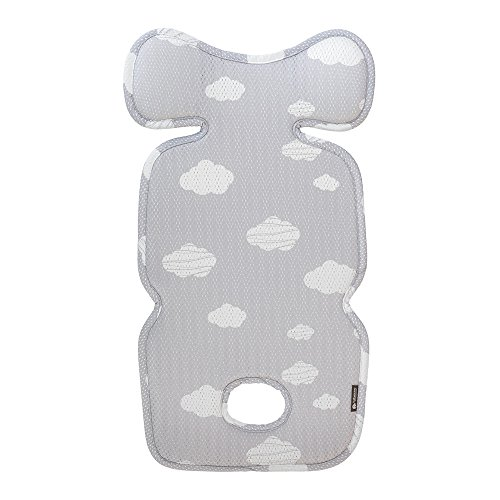 Agibaby Premium 3D Mesh Cool Seat Liner for Stroller & Carseat - Cloud (Toddler)