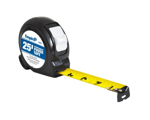 Empire Level 627IE 30 by 1-Inch Power Tape, Chrome