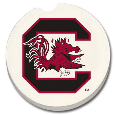 NCAA Car Coaster (Set of 2) NCAA Team: South Carolina Gamecocks