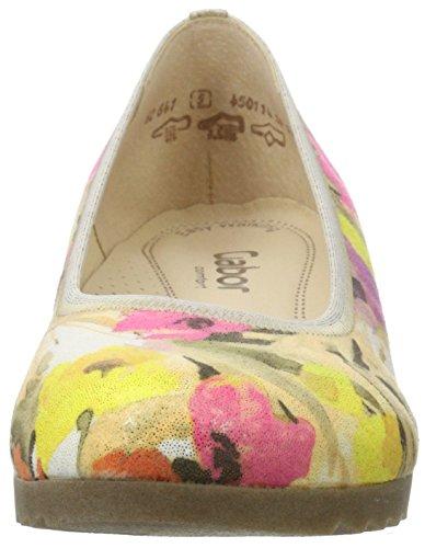 Gabor Shoes Comfort, Bailarinas para Mujer Beige (cipria Grata/ambr 32)