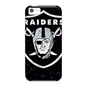 5c Scratch-proof Protection Case Cover For Iphone/ Hot Oakland Raiders Phone Case