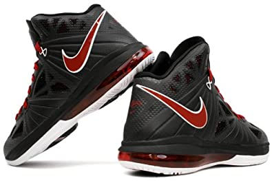NIKE Mens Lebron 8 P.S. Playoff Pack  441946-001  Black Sport Red-White  Mens Shoes 441946-001-7.5  Amazon.co.uk  Shoes   Bags 585a63074