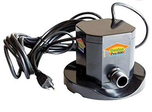 On The Water Pools (PUMPS AWAY GENIUS IQ 800 Auto ON/OFF Cover Pump For Swimming Pools, 800 GPH 1/4 HP)