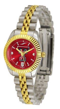 SunTime Texas Tech Red Raiders Ladies Executive AnoChrome Watch - Red Raiders Ladies Watch