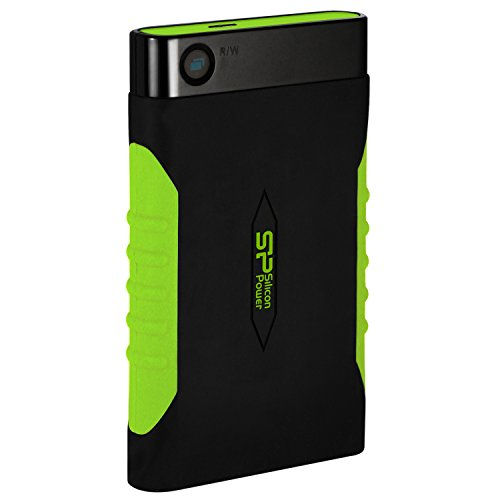 Silicon Power 2TB Rugged Armor A15 Military-grade Shockproof USB 3.0 2.5-inch Portable External Hard Drive