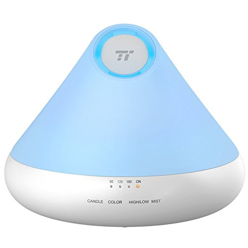TaoTronics 300ml Aromatherapy Diffuser with Natural Candle L