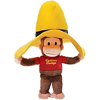 GUND Curious George Yellow Hat Plush