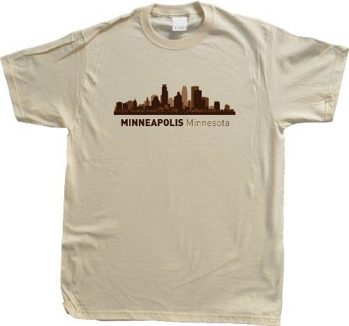 Minneapolis, MN City Skyline Unisex T-shirt Minnesota Hometown Pride Tee
